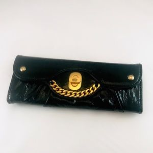 Juicy Couture Princess Mad Money Black Gold Wallet
